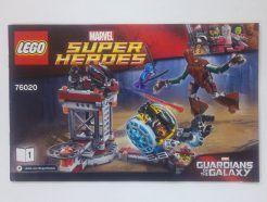 Lego Marvel Super Heroes – Összeszerelési útmutató 76020-1