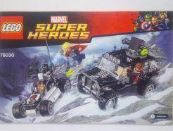 Lego Marvel Super Heroes – Összeszerelési útmutató 76030