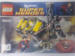 Lego DC Super Heroes – Összeszerelési útmutató 76002-2