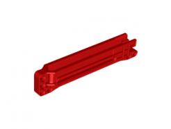 Lego alkatrész - Red Technic, Gear Rack 1x14x2 Housing (fits 18942)