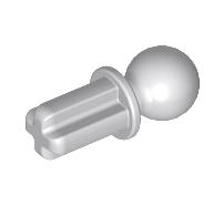 Lego alkatrész - Light Bluish Gray Technic, Axle Towball
