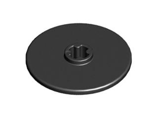 Lego alkatrész - Black Technic, Disk 3x3