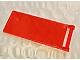 Lego alkatrész - Trans-Neon Orange Flag 7x3 with Rod