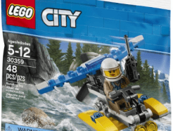Lego City - Police Water Plane polybag