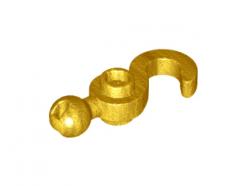 Lego alkatrész - Pearl Gold Hook with Towball