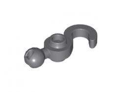 Lego alkatrész - Dark Bluish Gray Hook with Towball