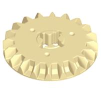 Lego alkatrész - Tan Technic, Gear 20 Tooth Bevel