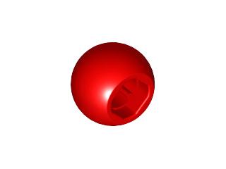 Lego alkatrész - Red Technic Ball Joint