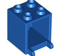 Lego alkatrész - Blue Container, Box 2x2x2