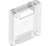Lego alkatrész - Trans-Clear Container, Box 2x2x2 Door with Slot