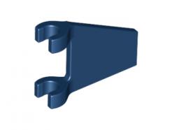 Lego alkatrész - Dark Blue Flag 2x2 Trapezoid