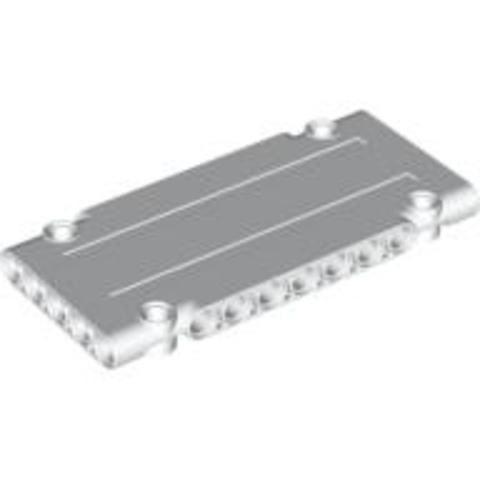 Lego alkatrész - White Technic, Panel Plate 5x11x1