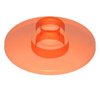 Lego alkatrész - Trans-Neon Orange Dish 2x2 Inverted (Radar)