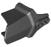Lego alkatrész - Black Hero Factory Shoulder Armor