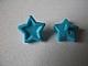Lego alkatrész - Medium Azure Friends Accessories Hair Decoration, Star with Pin
