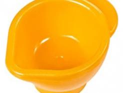 Lego alkatrész - Bright Light Orange Friends Accessories Measuring Jug