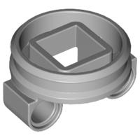Lego alkatrész - Light Bluish Gray Technic Turntable Small Bottom