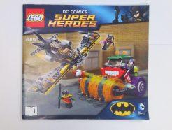 Lego DC Super Heroes – Összeszerelési útmutató 76013-1