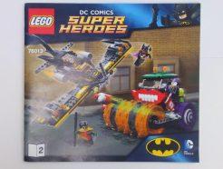 Lego DC Super Heroes – Összeszerelési útmutató 76013-2