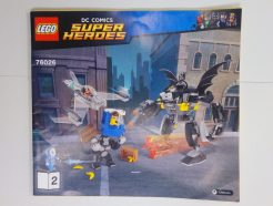 Lego DC Super Heroes – Összeszerelési útmutató 76026-2