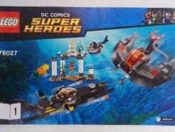 Lego DC Super Heroes – Összeszerelési útmutató 76027-1