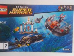 Lego DC Super Heroes – Összeszerelési útmutató 76027-2