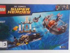Lego DC Super Heroes – Összeszerelési útmutató 76027-3