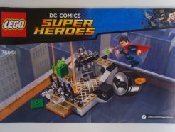 Lego DC Super Heroes – Összeszerelési útmutató 76044