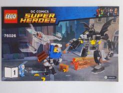 DC Super Heroes – Összeszerelési útmutató 76026-1
