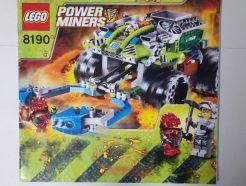 Lego Power Miners – Összeszerelési útmutató 8190