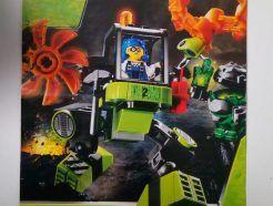 Lego Power Miners – Összeszerelési útmutató 8957