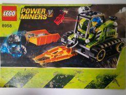 Lego Power Miners – Összeszerelési útmutató 8958
