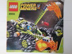 Lego Power Miners – Összeszerelési útmutató 8959