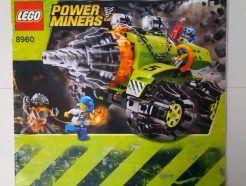 Lego Power Miners – Összeszerelési útmutató 8960