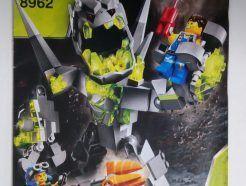 Lego Power Miners – Összeszerelési útmutató 8962