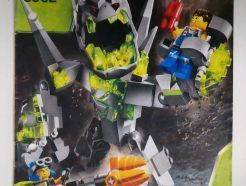 Lego Power Miners – Sérült Összeszerelési útmutató 8962