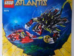 Lego Atlantis – Sérült Összeszerelési útmutató 8079