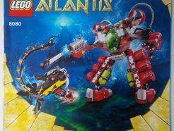 Lego Atlantis – Sérült Összeszerelési útmutató 8080