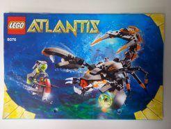 Lego Atlantis – Sérült Összeszerelési útmutató 8058