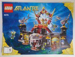 Lego Atlantis – Sérült Összeszerelési útmutató 8078-1