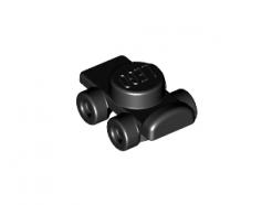 Lego alkatrész - Black Minifig, Footgear Roller Skate