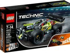 Lego Technic - Ütköztethető versenyjármű I.