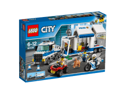 Lego City - Mobil rendőrparancsnoki központ