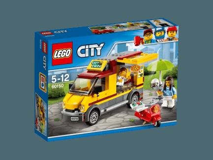 Lego City - Pizzás furgon