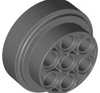 Lego alkatrész - Dark Bluish Gray Wheel 31mm D. x 15mm Technic
