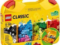 Lego Classic - Kreatív játékbőrönd