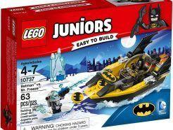 LEGO Juniors - Batman és Mr. Freeze összecsapása