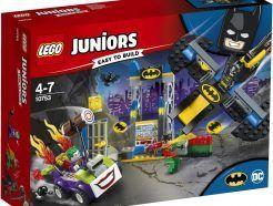 LEGO Juniors - Joker támadása a Denevérbarlang ellen