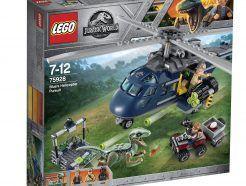 LEGO Jurassic World - Blue helikopteres üldözése