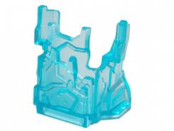 LEGO Alkatrész - Trans-Light Blue Rock Panel 2 x 4 x 3 with Fractures (Chima Ice Cage)